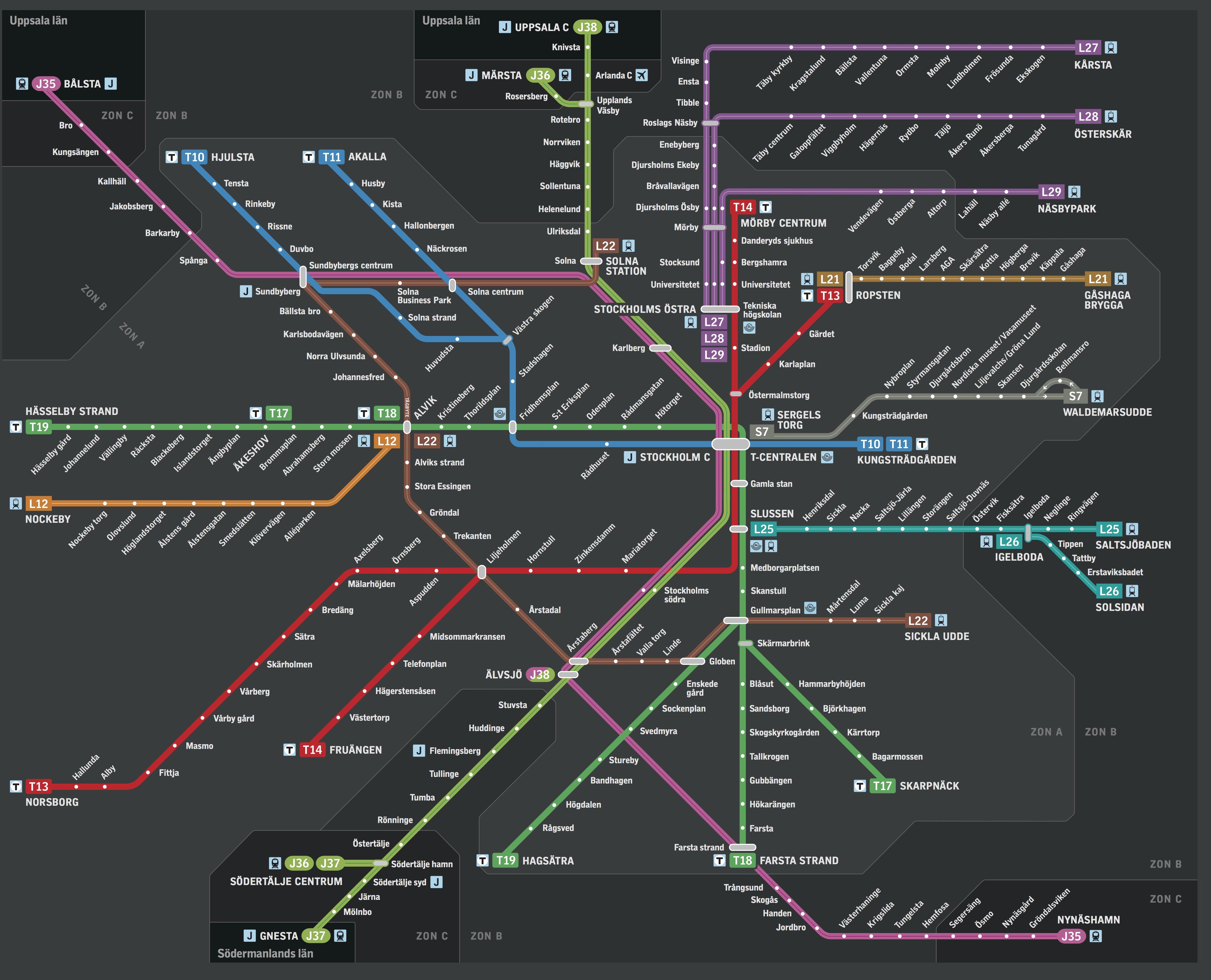 Sl Karta Arlanda.Transport Grow Internationals