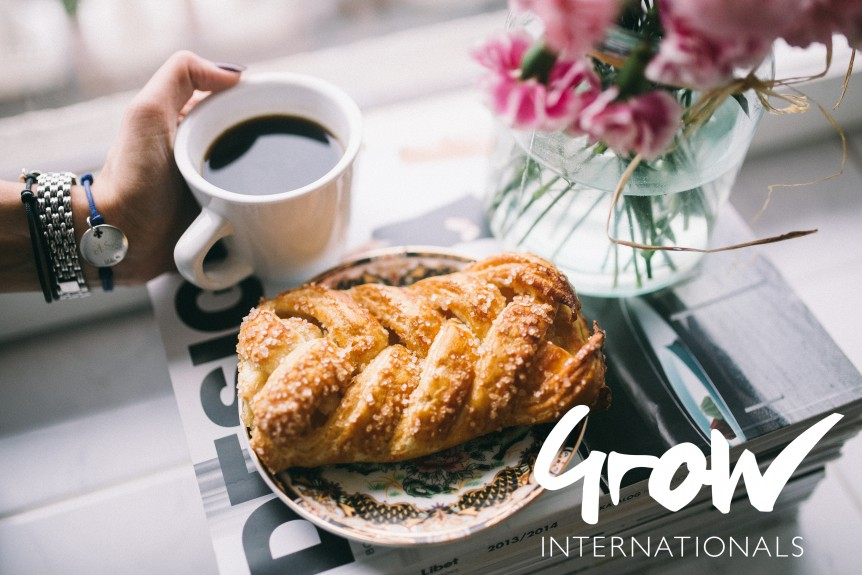 Grow Internationals Coffee Morning