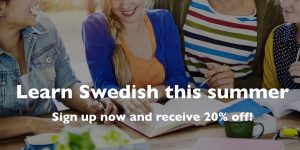 Swedish Intensive ummer Course