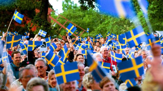 Sweden National Day June 6