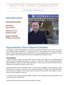 Leonard's Expat Story