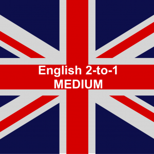 English 2-to-1 Medium pack