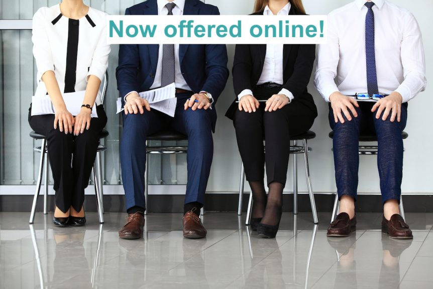 Job Interview training online